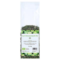 DUOWELL Hanf Zitronenmyrte Tee Bio 40 Gramm - Vorderseite