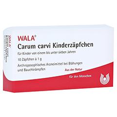 Carum carvi Kinderzäpfchen 10x1 Gramm N1