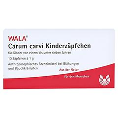 Carum carvi Kinderzäpfchen 10x1 Gramm N1 - Vorderseite