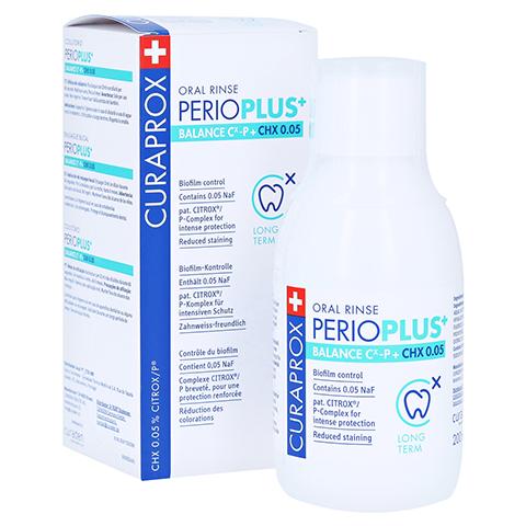 CURAPROX perio Plus+ Balance Mundspülung CHX 0,05% 200 Milliliter
