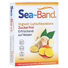 SEA-BAND Ingwer-Lutschbonbons zuckerfrei 24 Stück