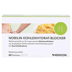 Nobilin Kohlenhydrat-blocker Tabletten 60 Stück - Vorderseite