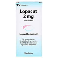 Lopacut 2mg 10 Stück N1 - Vorderseite