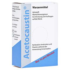 Acetocaustin Lösung 0.5 Milliliter