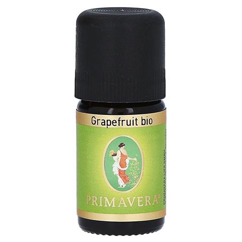 PRIMAVERA Grapefruit Öl ätherisch kbA 5 Milliliter