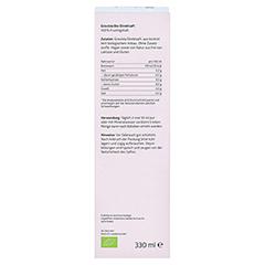 GRAVIOLA 100% Bio Direktsaft 330 Milliliter - Rückseite