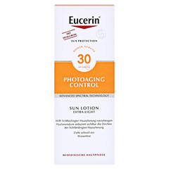 EUCERIN Sun Lotion PhotoAging Control LSF 30 + gratis Eucerin Sun Oil Control Body LSF50+ 150 Milliliter - Vorderseite