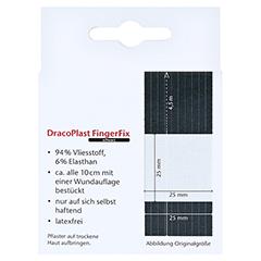DRACOPLAST FingerFix 2,5 cmx4,5 m m.Wundk.schw. 1 Stück - Rückseite