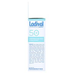 LADIVAL Sonnenschutz Gesicht Fluid matt.LSF 50+ + gratis Ladival mattierendes Fluid LSF 30 (5 ml) 50 Milliliter - Linke Seite