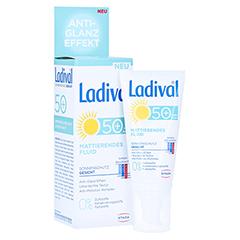 LADIVAL Sonnenschutz Gesicht Fluid matt.LSF 50+ 50 Milliliter