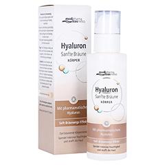 HYALURON SANFTE Bräune Körperpflege Creme 200 Milliliter