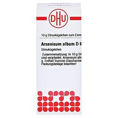 ARSENICUM ALBUM D 6 Globuli 10 Gramm N1 - Vorderseite