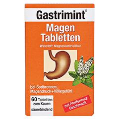 BAD HEILBRUNNER Gastrimint Magen Tabletten 60 Stück - Vorderseite
