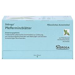 Sidroga Pfefferminzblätter 20x1.5 Gramm - Unterseite