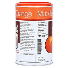 Mucofalk Orange 150 Gramm - Rückseite