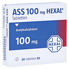 ASS 100mg HEXAL 50 Stück N2