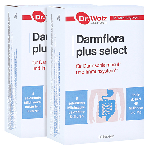 Darmflora plus Select Kapseln 2x80 Stück