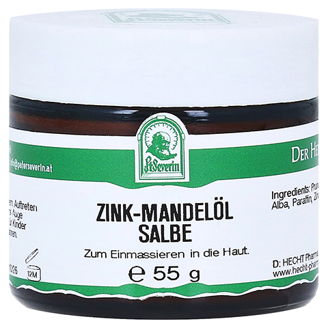 ZINK MANDELÖL Salbe 55 Gramm