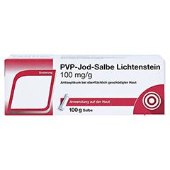 PVP-Jod-Salbe Lichtenstein 100 Gramm N2 - Vorderseite