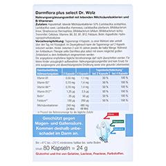 Darmflora plus Select Kapseln 2x80 Stück - Rückseite