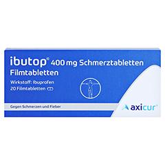 Ibutop 400mg Schmerztabletten 20 Stück - Vorderseite