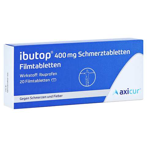 Ibutop 400mg Schmerztabletten 20 Stück