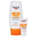 EUCERIN Sun Lotion extra leicht LSF 30 + gratis Eucerin Sun Gel-Creme 50+ 20 ml 150 Milliliter