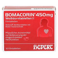 Bomacorin 450mg Weißdorntabletten N 50 Stück N2 - Vorderseite