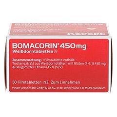 Bomacorin 450mg Weißdorntabletten N 50 Stück N2 - Unterseite