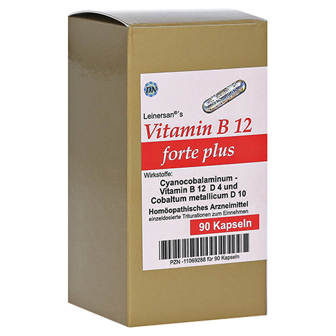 VITAMIN B12 FORTE plus Kapseln 90 Stück