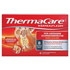 ThermaCare Wärmeauflagen für größere Schmerzbereiche 4 Stück - Vorderseite