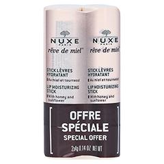 NUXE Reve de Miel Lippenpflegestift 2x4 Gramm
