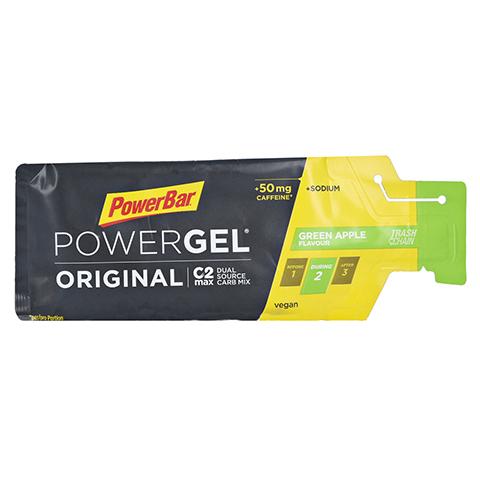 POWERBAR PowerGel Original & Fruit green Apple mK 41 Gramm