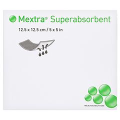 MEXTRA Superabsorbent Verband 12,5x12,5 cm 10 Stück - Vorderseite