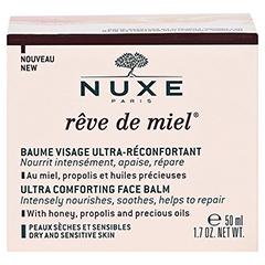NUXE Reve de Miel beruhigender Gesichtsbalsam 50 Milliliter - Rückseite