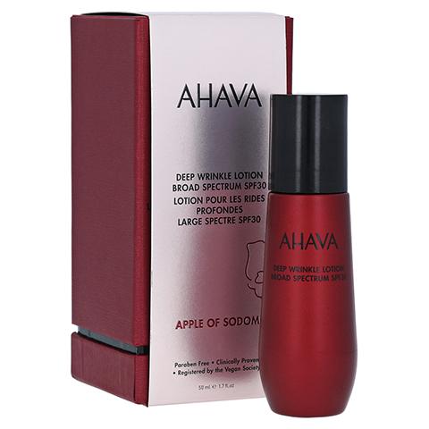 AHAVA Apple Of Sodom Deep Wrinkle Lotion SPF 30 50 Milliliter