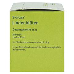 Sidroga Lindenblüten 20x1.8 Gramm - Rechte Seite