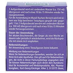 Kneipp Salbeiblätter-Tee 10 Stück - Rückseite