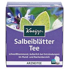 Kneipp Salbeiblätter-Tee 10 Stück - Vorderseite