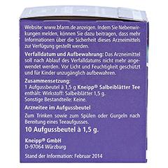 Kneipp Salbeiblätter-Tee 10 Stück - Linke Seite