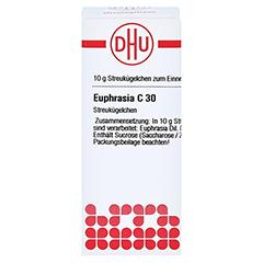 EUPHRASIA C 30 Globuli 10 Gramm N1 - Vorderseite