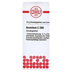 ACONITUM C 200 Globuli 10 Gramm N1 - Vorderseite