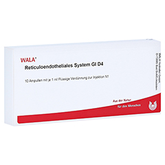 RETICULOENDOTHELIALES System GL D 4 Ampullen 10x1 Milliliter N1