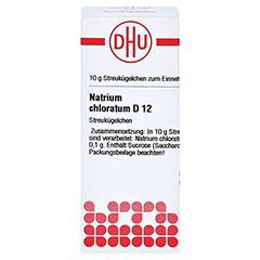 NATRIUM CHLORATUM D 12 Globuli 10 Gramm N1 - Vorderseite