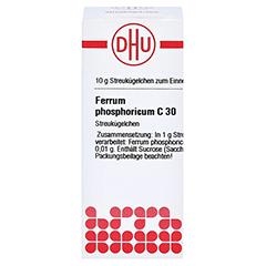 FERRUM PHOSPHORICUM C 30 Globuli 10 Gramm N1 - Vorderseite
