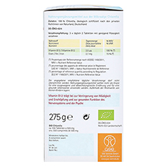 CHLORELLA 500 mg Bio Naturland Tabletten 550 Stück - Linke Seite