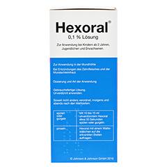 Hexoral 0,1% Lösung 200 Milliliter N1 - Linke Seite