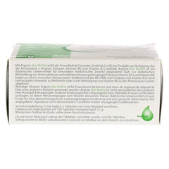 ARGININ-DIET Biofrid Tabletten 100 Stück - Oberseite