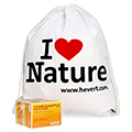 "Vitamin B Komplex forte Hevert Tabletten + gratis ""We love nature"" - Turnbeutel 200 Stück"