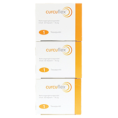 CURCUFLEX Weichkapseln 180 Stück - Linke Seite